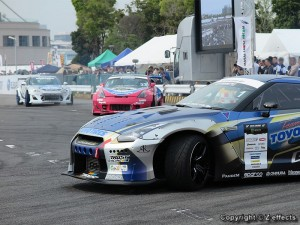 Team TOYO TIRES DRIFT デモ走行