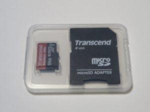 Transcend microSDXC S64GUSDU1PE