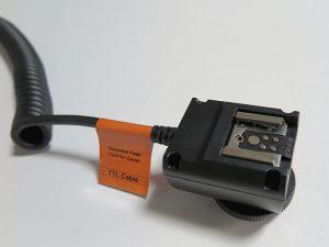 Canonカメラ互換スピードライト用TTLコード