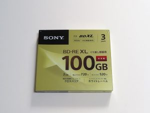 SONY BD-RE XL